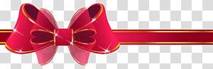 Kertas pita merah, Pita Merah Cantik, pita merah dan emas png