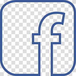 Media sosial Facebook Ikon Komputer Logo, Garis Besar Facebook, logo Facebook png