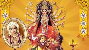 Shiva Durga Puja Kali Parvati, Dussehra png