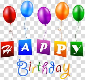Balon Ulang Tahun, Selamat Ulang Tahun dengan Balon, Teks Selamat Ulang Tahun png