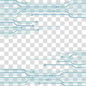 Teknologi Euclidean Jaringan listrik, latar belakang tekstur chip sirkuit Gratis, ilustrasi rangkaian biru png