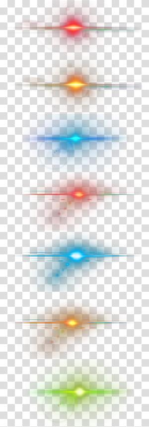 Lighting Star, efek cahaya keren, lampu LED warna-warni png