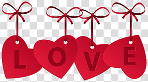 Love Heart, Hearts with Love Decoration, cinta hati png