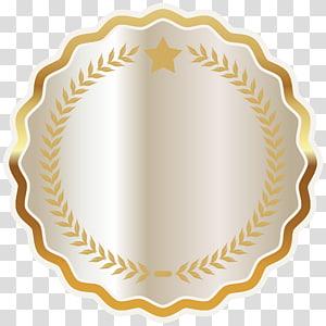 batas tepi bergigi, Seal Badge, White Seal Badge PNG clipart