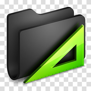 ilustrasi folder abu-abu, desain sudut merek otomotif, Aplikasi Folder Hitam png