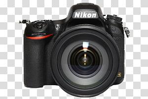 hitam Nikon DSLR kamera, Digital SLR Nikon D750 Nikon D7100 Lensa kamera Kamera refleks lensa tunggal, merek kamera Nikon png