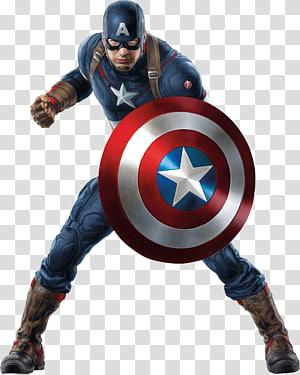 Ilustrasi Marvel Captain America, perisai Captain America, kapten marvel png