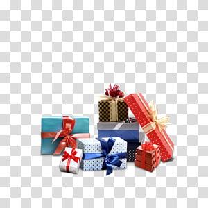 berbagai macam kotak hadiah natal, Hadiah Gratis Google, hadiah png