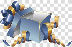 teal kotak hadiah, Kotak Hadiah, Kotak Hadiah Biru Besar png