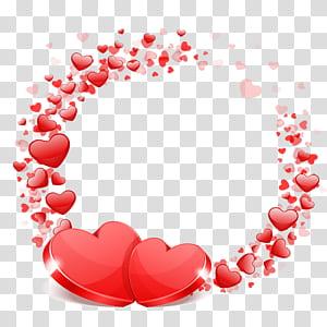 Pernikahan Valentine's Heart Wish, Cinta pernikahan, ilustrasi hati merah png