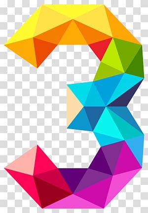 Segitiga monokromatik Warna Teorema Ramsey Grafik lengkap, Segitiga Berwarna-warni Nomor Tiga, ilustrasi 3-warna PNG clipart