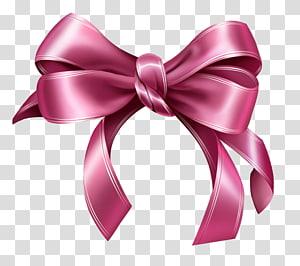 Ribbon Pink, Pink Bow, ilustrasi pink bow tie png