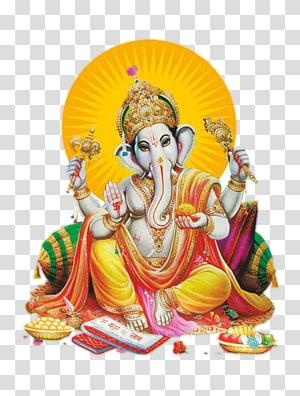Lukisan Lord Ganesha, Ganesha Shiva Ganesh Chaturthi, Ganesh File png