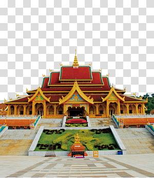 ilustrasi kuil, Kuil u897fu53ccu7248u7d0du52d0u6cd0u5927u4ecfu5bfa Wat, temple png