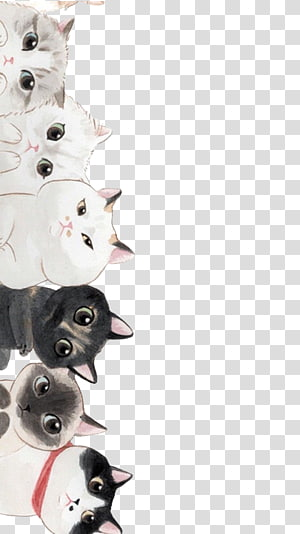 Kucing Kucing, Kucing Kartun, ilustrasi kucing png