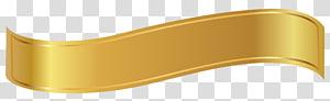 Produk Bahan Sudut Kuning, Spanduk Emas, tali pita kuning PNG clipart