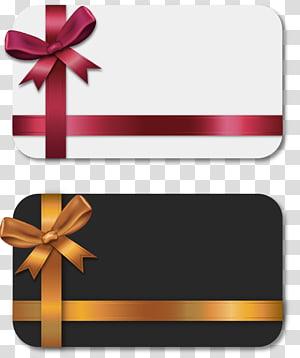 dua ilustrasi kartu abu-abu dan putih, Amazon.com Kartu hadiah Hadiah belanja online, dicat dua kartu hadiah dasi kupu-kupu png