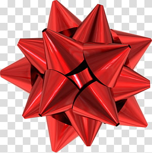 pita merah, Hadiah Natal Merah, Pita Hadiah HD png