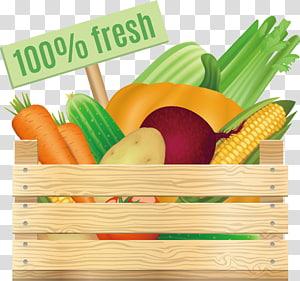 berbagai macam ilustrasi buah, Wortel Makanan organik Jagung rebus, 100% sayuran segar png