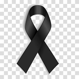 pita hitam, pita hitam Kesadaran pita Mourning Pita putih, berkabung png