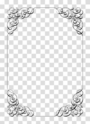 Undangan Pernikahan, Pesta Kertas, File Perbatasan Undangan Pernikahan, ilustrasi abstrak putih dan hitam png