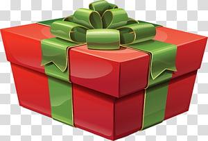 kotak hadiah merah dan hijau, Ikon pembawa hadiah Natal, Kotak Hadiah Merah Besar png
