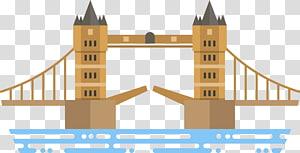 ilustrasi London Bridge, London Bridge London Tower Bridge Architecture, London Bridge png