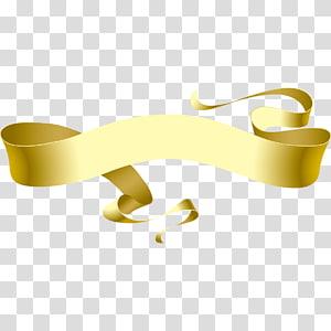 Pita, pita emas elegan, pita emas png