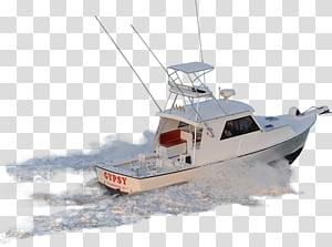 ilustrasi powerboat putih, Kapal penangkap ikan Rekreasi memancing perahu rekreasi, Dan Menggunakan Perahu png
