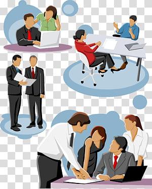orang-orang yang bekerja, Ikon, Pengusaha berbicara png