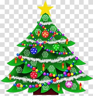 Pohon Natal, ilustrasi Natal PNG clipart