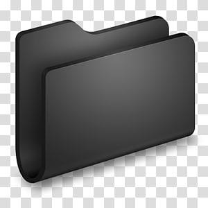 persegi panjang, Generic Black Folder, pemegang file hitam png