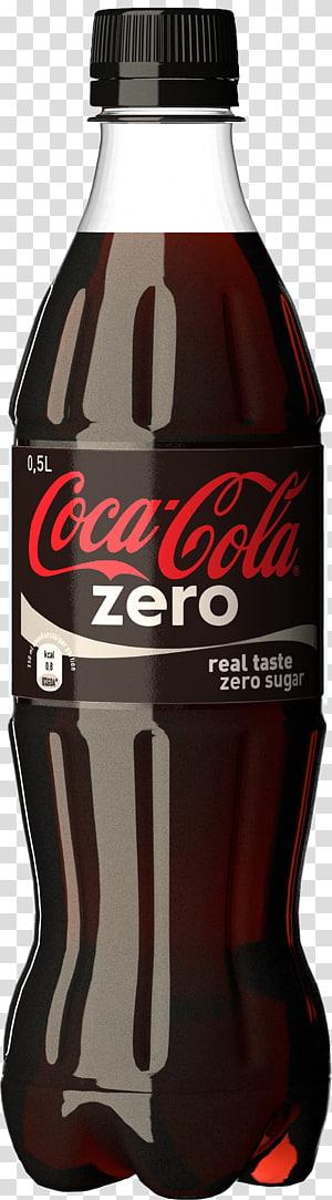 ilustrasi botol coca-cola zero, dunia minuman ringan coca-cola coca-cola zero, botol coca cola zero PNG clipart