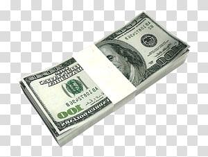 bundel uang kertas 100 dolar AS, Uang Dolar Amerika Serikat Uang kertas satu dolar Amerika Serikat, Dolar Uang Tunai png