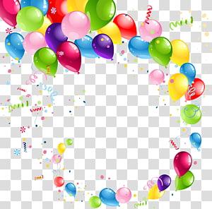 Balon pesta seni grafis, Balon, Balon pita mengambang png