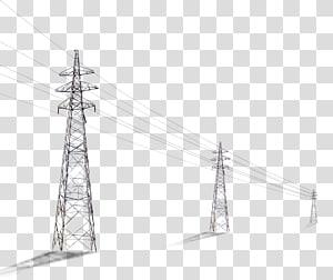 tiga menara jaringan, tiang Utility Kolom File komputer tegangan tinggi, tiang telepon png