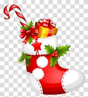Hadiah Natal, Natal dengan Candy Cane, Natal dengan tongkat permen dan karya seni kotak hadiah png