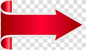 Ikon Panah Grafis yang Dapat diukur, Panah Merah, logo panah merah PNG clipart