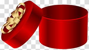 ilustrasi kotak hadiah bulat merah, Kotak Hadiah, Kotak Hadiah Bulat Merah Terbuka png