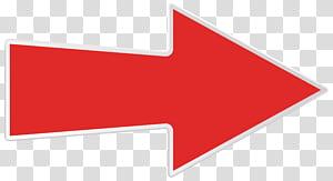 Logo Garis Sudut Merek, Panah Kanan Merah, signage panah merah PNG clipart