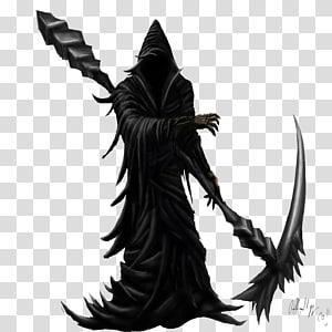 reaper suram hitam, Death, Grim Reaper HD png
