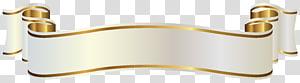 Spanduk Emas, Spanduk Putih dan Emas, tekstil putih dan krem png