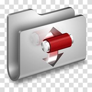 ilustrasi saklar abu-abu dan merah, persegi panjang, Folder Logam Torrents png