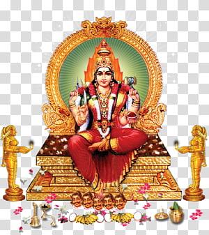 Dewa Kuil Meenakshi Amman, Mariamman Durga Lakshmi, Dewa, ilustrasi Wisnu png