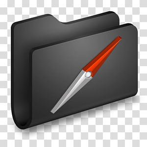 ilustrasi logo file navigasi merah dan putih, sudut, Situs Folder Hitam png