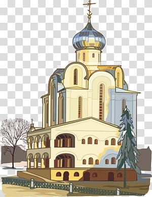 Kuil Katedral Saint Basils Arsitektur gereja Ortodoks Timur, kastil PNG clipart