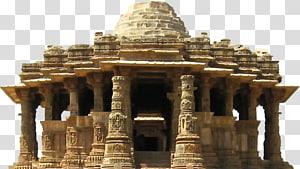 ilustrasi reruntuhan beton beige, Kuil Konark Sun Dinasti Somnath Chaulukya, Kuil Pic png