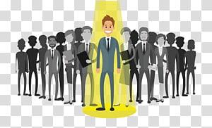 pria dalam setelan formal hitam, Pengusaha Rekrutmen Manajemen sumber daya manusia, pengusaha PNG clipart