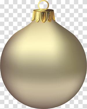 ilustrasi perhiasan abu-abu, ornamen Natal Santa Claus, Ornamen Emas Natal png