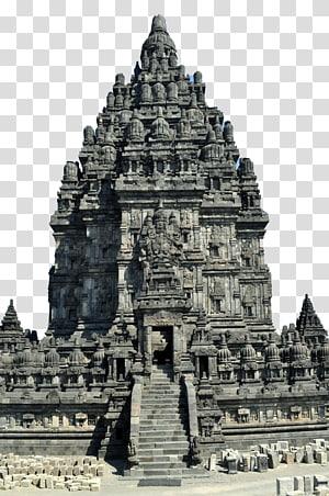 bangunan beton abu-abu dan hitam di bawah langit biru pada siang hari, Candi Prambanan Borobudur Virupaksha, Hampi Shiva, Kuil Terapung png